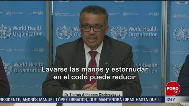 FOTO: 16 marzo 2020, oms advierte que distanciamiento social no es suficiente para extinguir pandemia de coronavirus