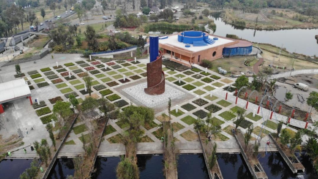 Foto: Inauguran obras de rehabilitación de parque ecológico de Xochimilco, 07 marzo de 2020, (Gobierno CDMX)