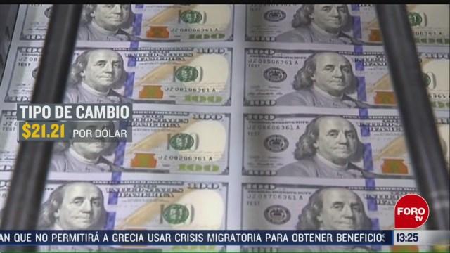 FOTO: peso mexicano tuvo una depreciacion frente al dolar