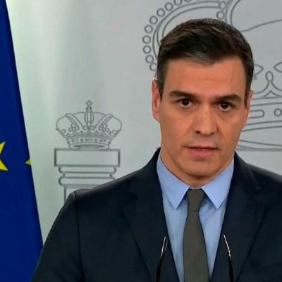 """FOTO: España paralizará todas las actividades """"no esenciales"""" por coronavirus, el 28 de marzo de 2020"""