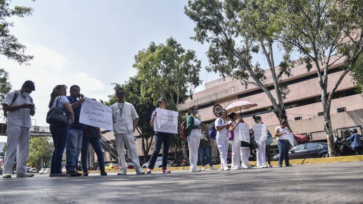 Coronavirus: Personal médico protesta por falata de insumos