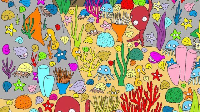 Foto ¿Puedes encontrar al pez? El reto viral que pocos pueden resolver 26 marzo 2020