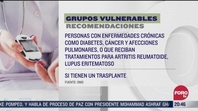 Foto: Coronavirus Quiénes Son Grupos Más Vulnerables COVID-19 23 Marzo 2020
