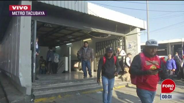reanudan servicio estaciones de la linea 1 por choque en el metro de la cdmx