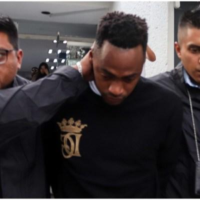 Trasladan al futbolista Renato Ibarra al Reclusorio Norte