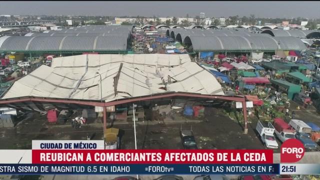 Foto: Reubican Comerciantes Desplomarse Techo Central De Abasto CDMX 31 Marzo 2020