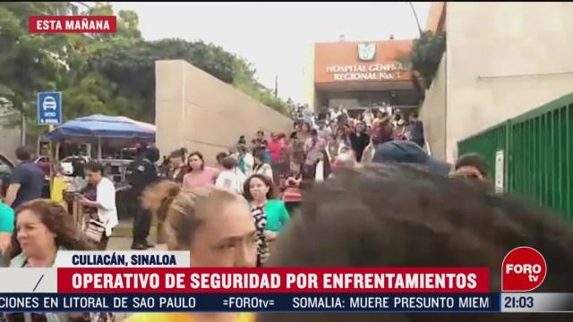 Foto: se desata balacera en hospital del imss en culiacan