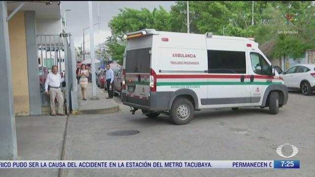 se eleva a seis la cifra de muertos en hospital de tabasco