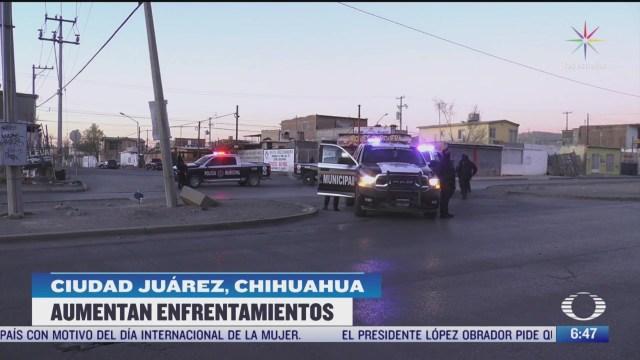 se han registrado 250 homicidios dolosos en ciudad juarez en