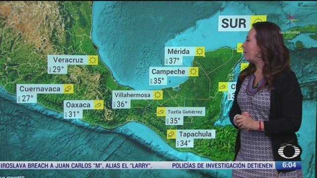 se pronostican lluvias con granizo en coahuila nuevo leon y tamaulipas