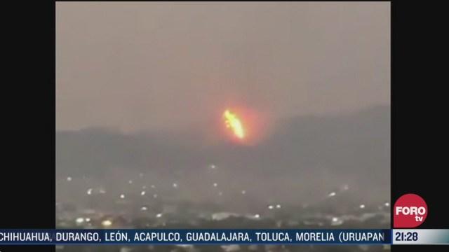 FOTO: 28 marzo 2020, se registran diversos incendios en la ciudad de mexico
