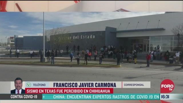 FOTO: Sin daños en Chihuahua, tras sismo con epicentro en Texas