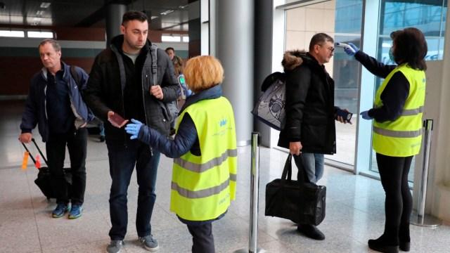Ucrania registra su primer caso de coronavirus
