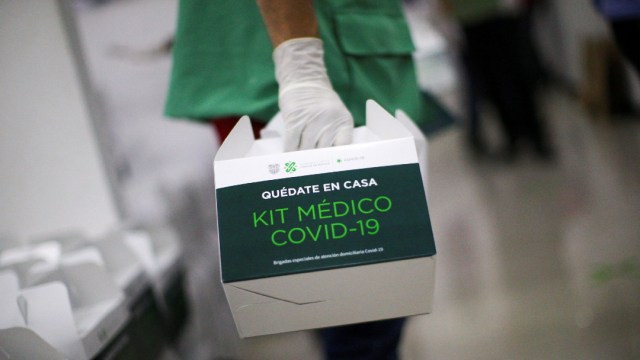kit medico coronavirus