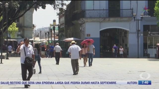 Ola de calor en Oaxaca