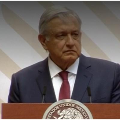 Foto: El presidente López Obrador anunció la creación de milones de empleos, 5 de abril de 2020 (Presidencia)