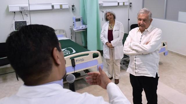 AMLO visitará hospitales habilitados para tratar pacientes con coronavirus