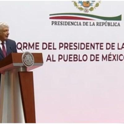 El presidente Andrés Manuel López Obrador dará un mensaje a la nación