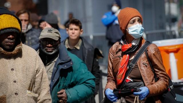 Foto: Nueva York prevé pico de casos de coronavirus a fines de abril