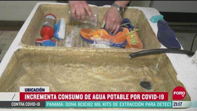 Foto: aumenta consumo de agua potable por pandemia 23 Abril 2020