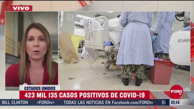 FOTO: aumentan casos de coronavirus en centros migratorios de eeuu