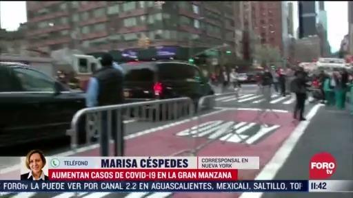 FOTO: 4 de abril 2020, aumentan casos de coronavirus en nueva york