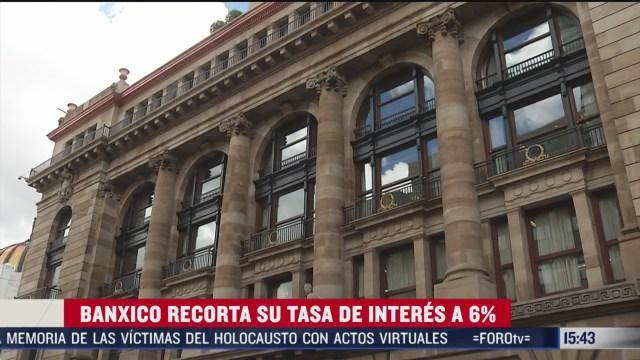 FOTO: banxico recorta su tasa de interes al