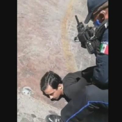 Foto: Video: Policías de Aguascalientes arrestan 'sin razón' y con violencia a turistas franceses, 5 de abril de 2020, (FOROtv)