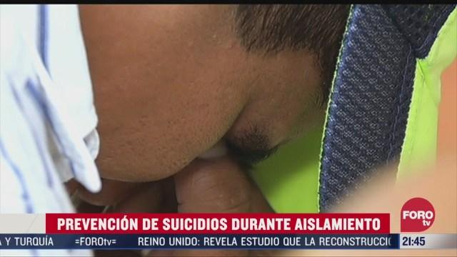 Foto: Cada 40 Segundos Suicida Persona Mundo 3 Abril 2020