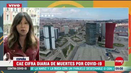 cae cifra diaria de muertes por coronavirus en espana