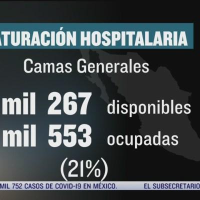 Camas disponibles en hospitales para pacientes con coronavirus