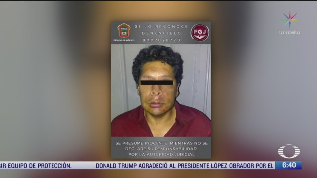 confirman que detenido en edomex tiene ordenes de aprehension por abuso sexual