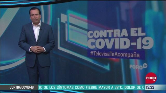 FOTO: contra el covid 19 televisateacompana primera emision 6 de abril de