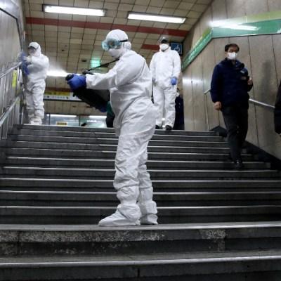 FOTO: Corea del Sur registra menos de 50 casos nuevos de coronavirus, recibe elogios de OMS, el 06 de abril de 2020