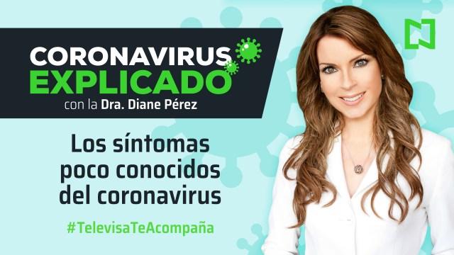Los síntomas poco conocidos del coronavirus
