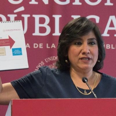 Irma Eréndira Sandoval, secretaria de la Función Pública, da positivo a coronavirus