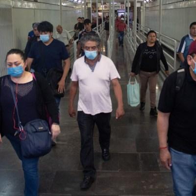 Gobierno de CDMX recomienda usar cubrebocas por coronavirus