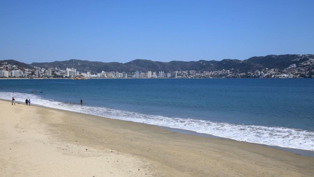 Foto: Cierran playas de Acapulco por coronavirus