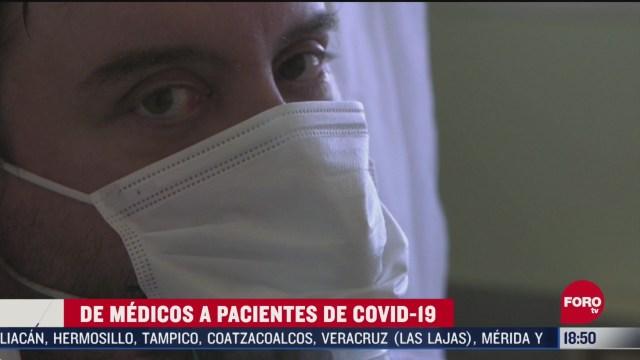 FOTO: de medicos a pacientes de coronavirus