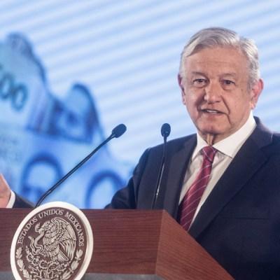 AMLO pide 'esperar y tener confianza' tras pronóstico del FMI