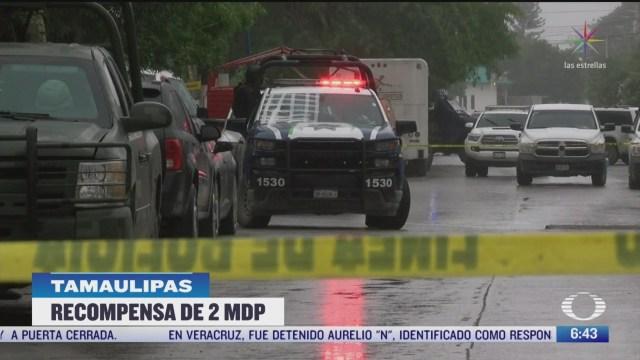 fiscalia de tamaulipas da recompensa por atacantes de deposito de cerveza
