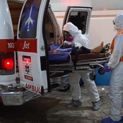 Sheinbaum reporta hospitales saturados por casos de coronavirus