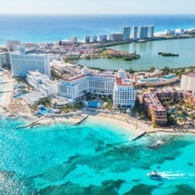 Foto: Zona hotelera en Cancún. Getty Images