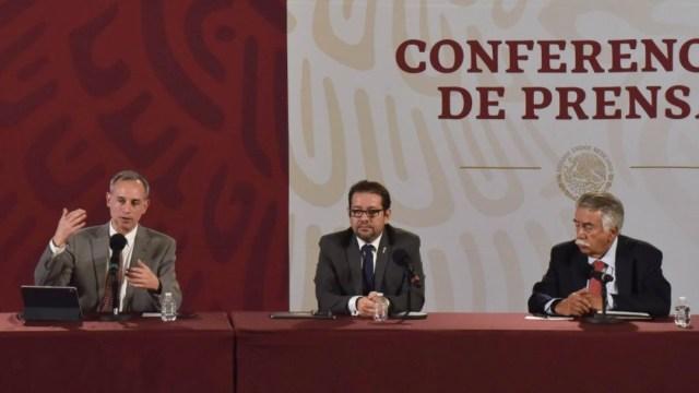 Foto: Conferencia sobre coronavirus en México del 16 de abril del 2020. Cuartoscuro