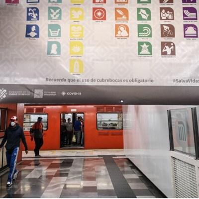 Metro de CDMX registra sólo el 30% de ocupación: Sheinbaum