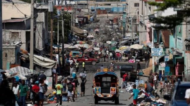 Foto: Barrio Village de Dieu, en Puerto Príncipe, Haití. Twitter/
