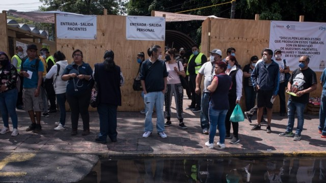Foto: Entrada del Hospital General de México Doctor Eduardo Liceaga