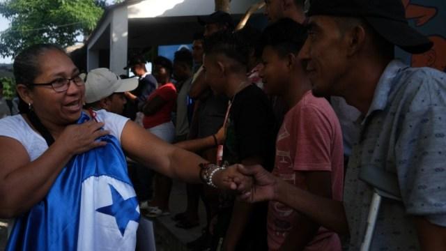 Foto: Migrantes hondureños en Tenosique, Tabasco. Cuartoscuro