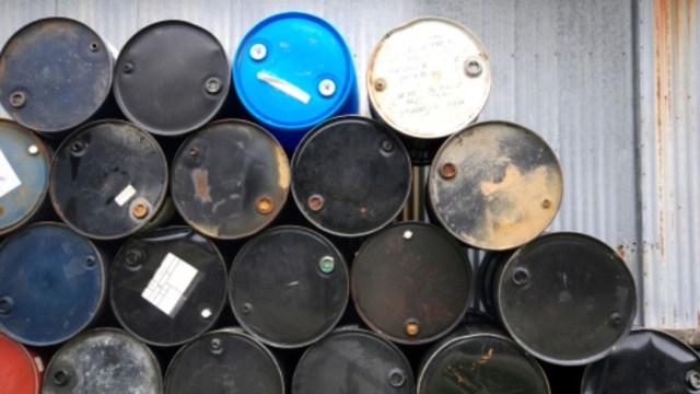 Foto: Barriles de petróleo. Getty Images/Archivo