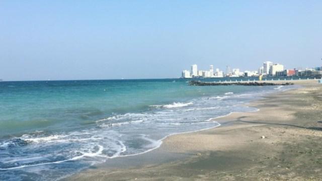 Foto: Playas de Veracruz. Twitter/